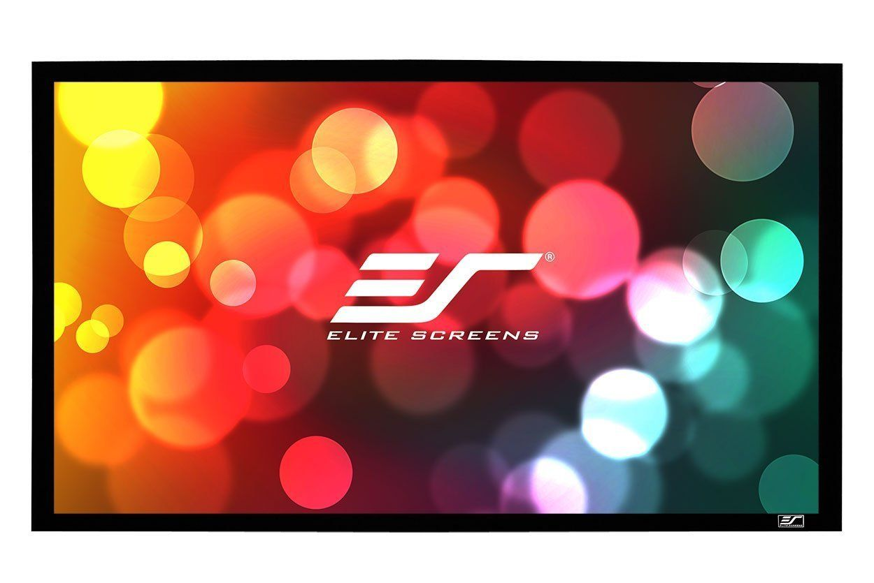 Elite Screens Sable Frame B2 Series 100 Inch Diagonal 16 9 Fixed Frame Home Theater P Pull Down Projector Screen Projection Screen Projector Screen