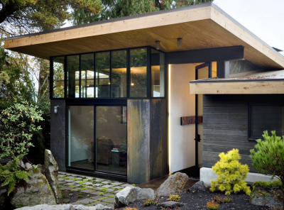 Modern Dream Home : Riley's Cove Residence by Olsen Kundig Architects
