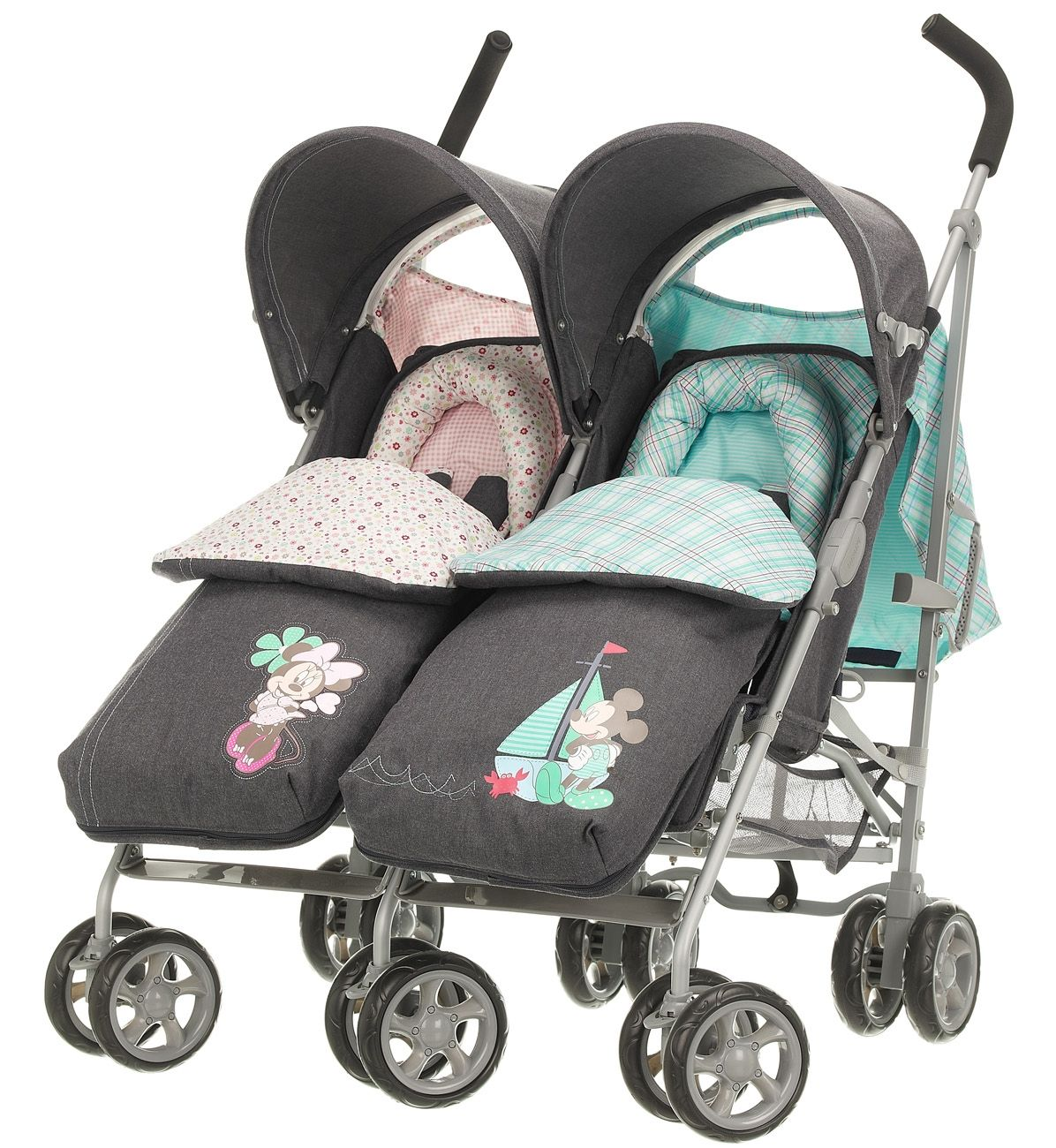 Mickey and Minnie! Twin strollers, Best twin strollers