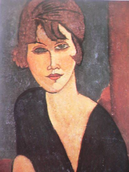 beatrice hastings painted by amedeo modigliani paris is a woman pinterest amedeo. Black Bedroom Furniture Sets. Home Design Ideas