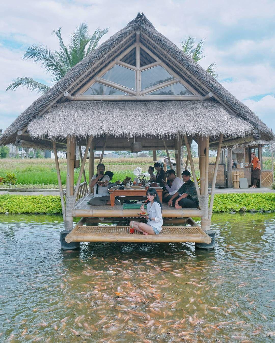 5 Restoran Dengan Pemandangan Sawah Di Bali Liburan Bali Pemandangan