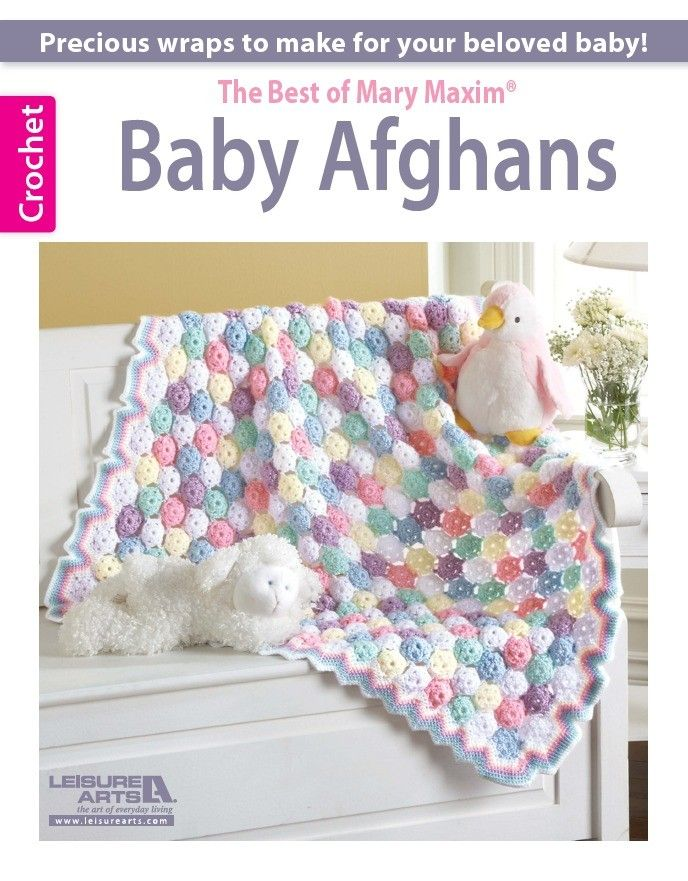 The Best of Mary Maxim Baby Afghans   Crochet   Pinterest   Colchas ...