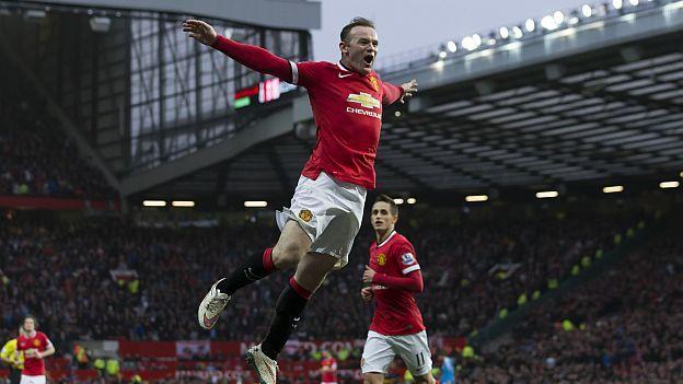 Manchester ganó 2-0 al Sunderland. Febrero 28, 2015.