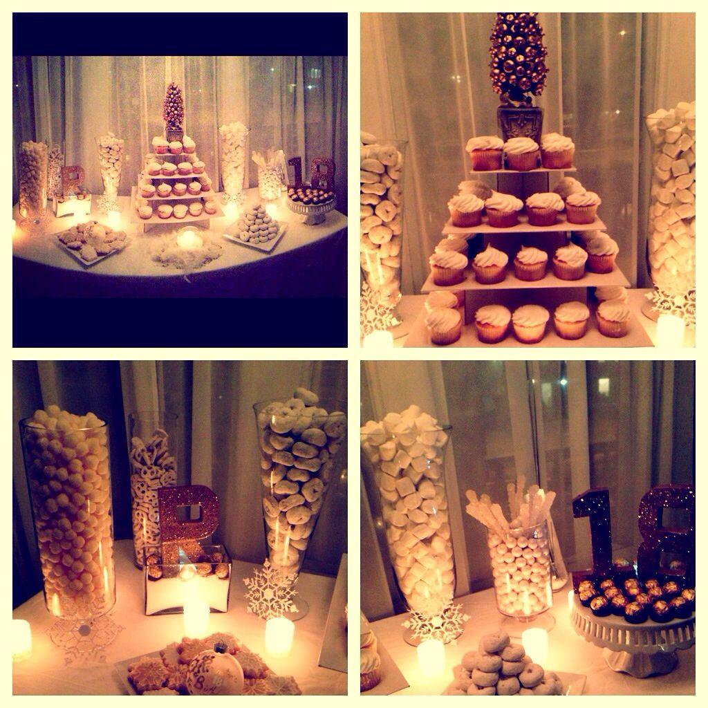 Winter Wonderland 18th Birthday Party By Chloe Cook Events 18th Birthday Party 18th Birthday Diy Party Decorations