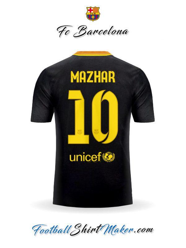 a00e1f9a8 Jersey FC Barcelona 2013 14 III Mazhar 10