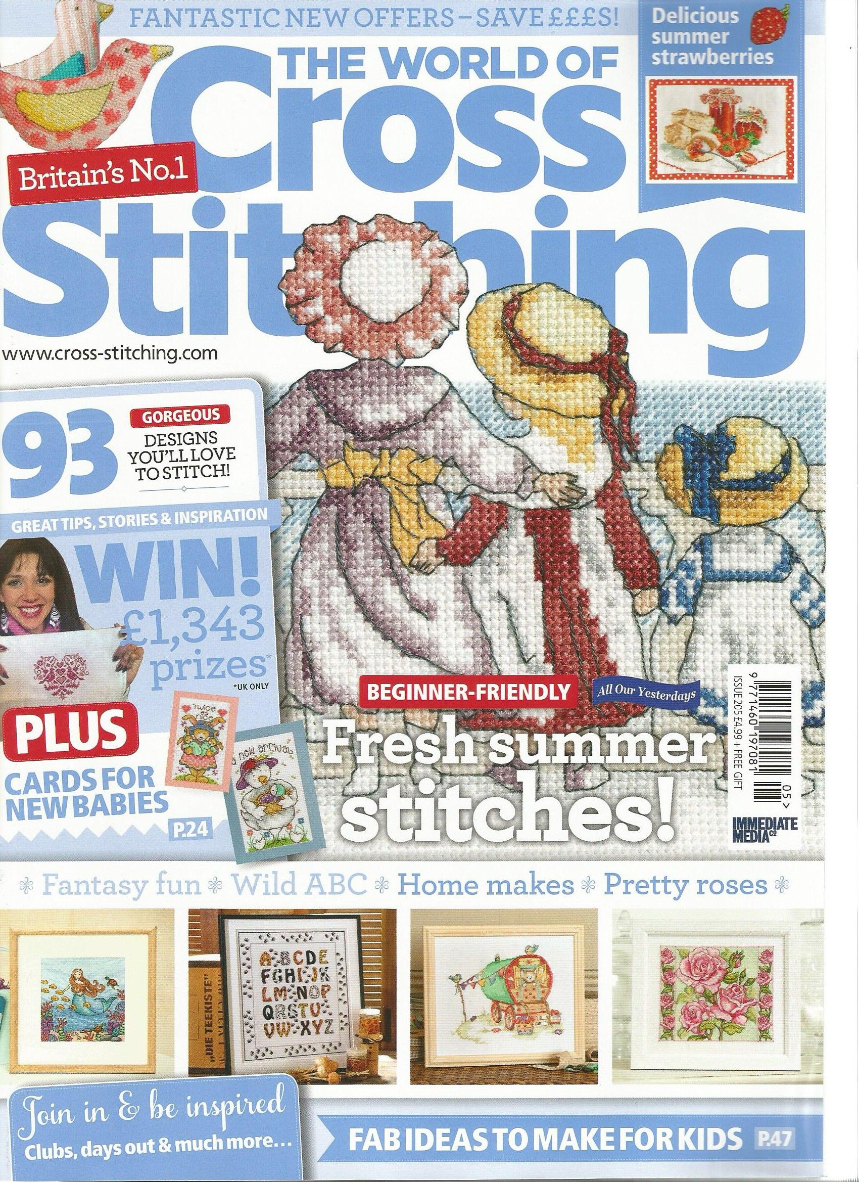 The World of Cross Stitching - Issue 205 | libros | Pinterest ...