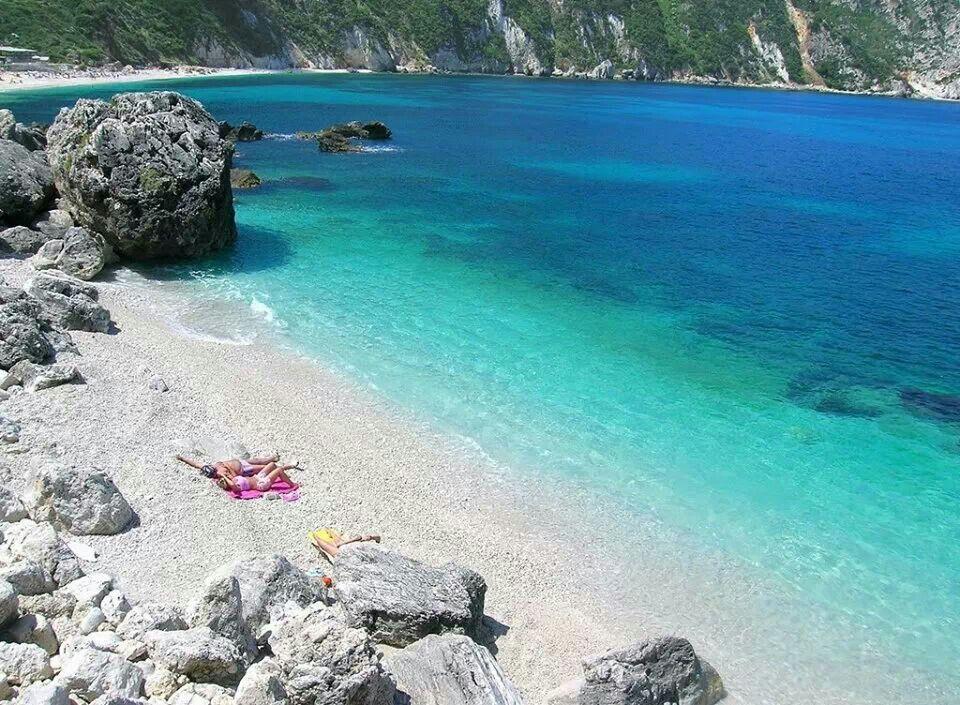 Petanoi beach @ Kefalonia island