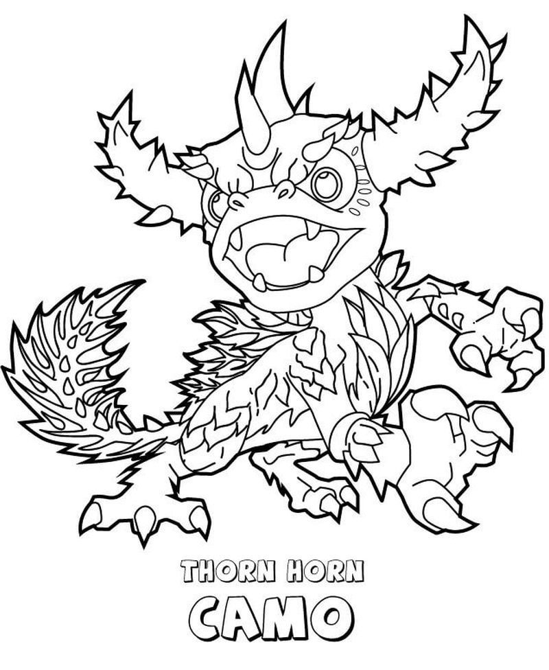 Skylander Coloring Pages Zap In 2020 Christmas Coloring Sheets Detailed Coloring Pages Cartoon Coloring Pages