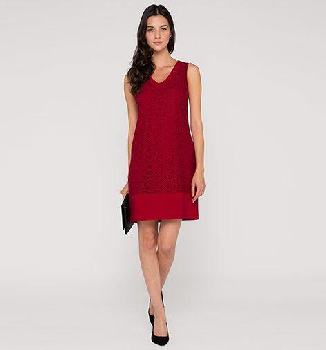 Spitzenkleid in rot   Wishlist: clothes   Spitzenkleider