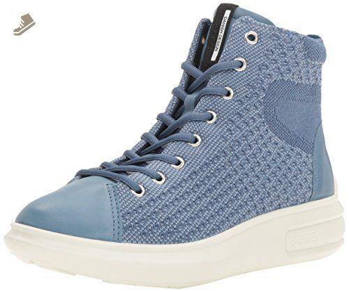 Soft 5, Sneakers Basses Femme, Bleu (Marine/Navy), 40 EUEcco