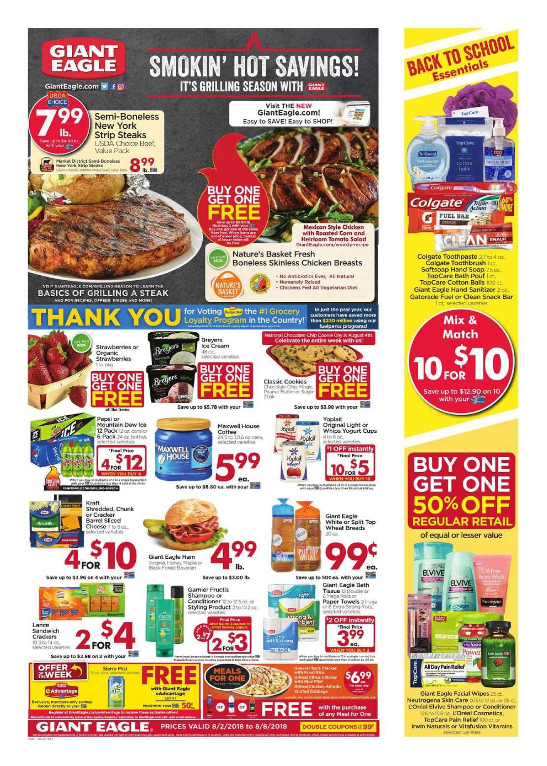 Giant eagle weekly ad flyer apr 8 apr 14 2021