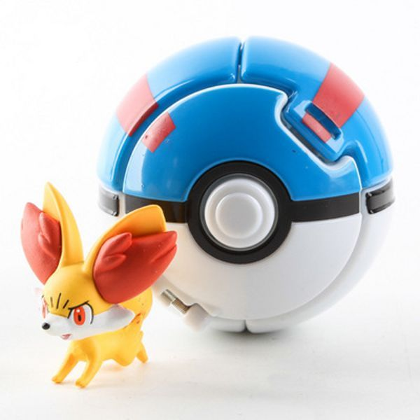 "New Throw ""n"" Pop Pokemon Go Pokeballs with Action Figures Toys"