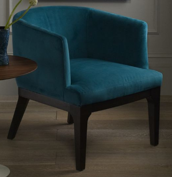 Chair •~• aqua/teal/turquoise velvet