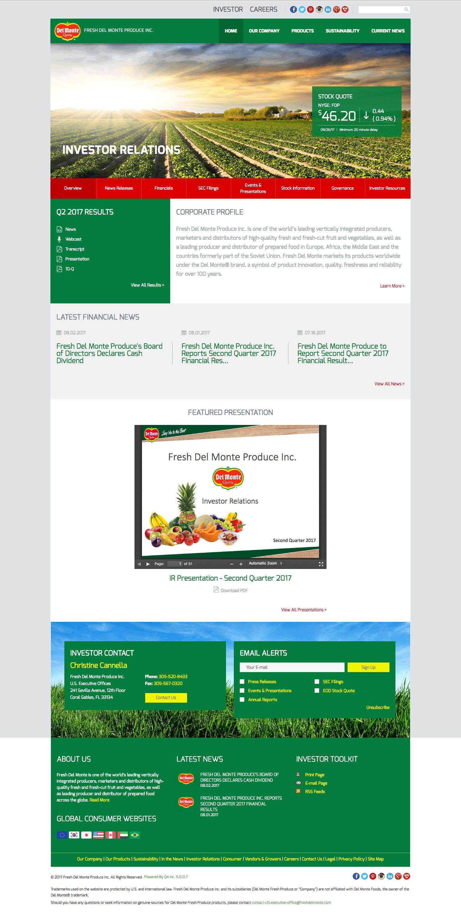 j&j snack foods investor relations