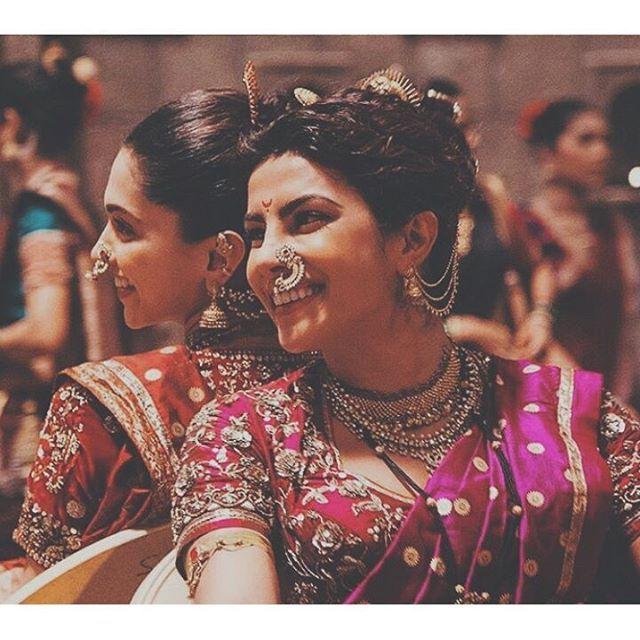 Deepika Padukone On Instagram Friendship Goals Forever Deepikapadukone Priyankachopra Wedding Saree Indian Marathi Bride Indian Wedding Dress