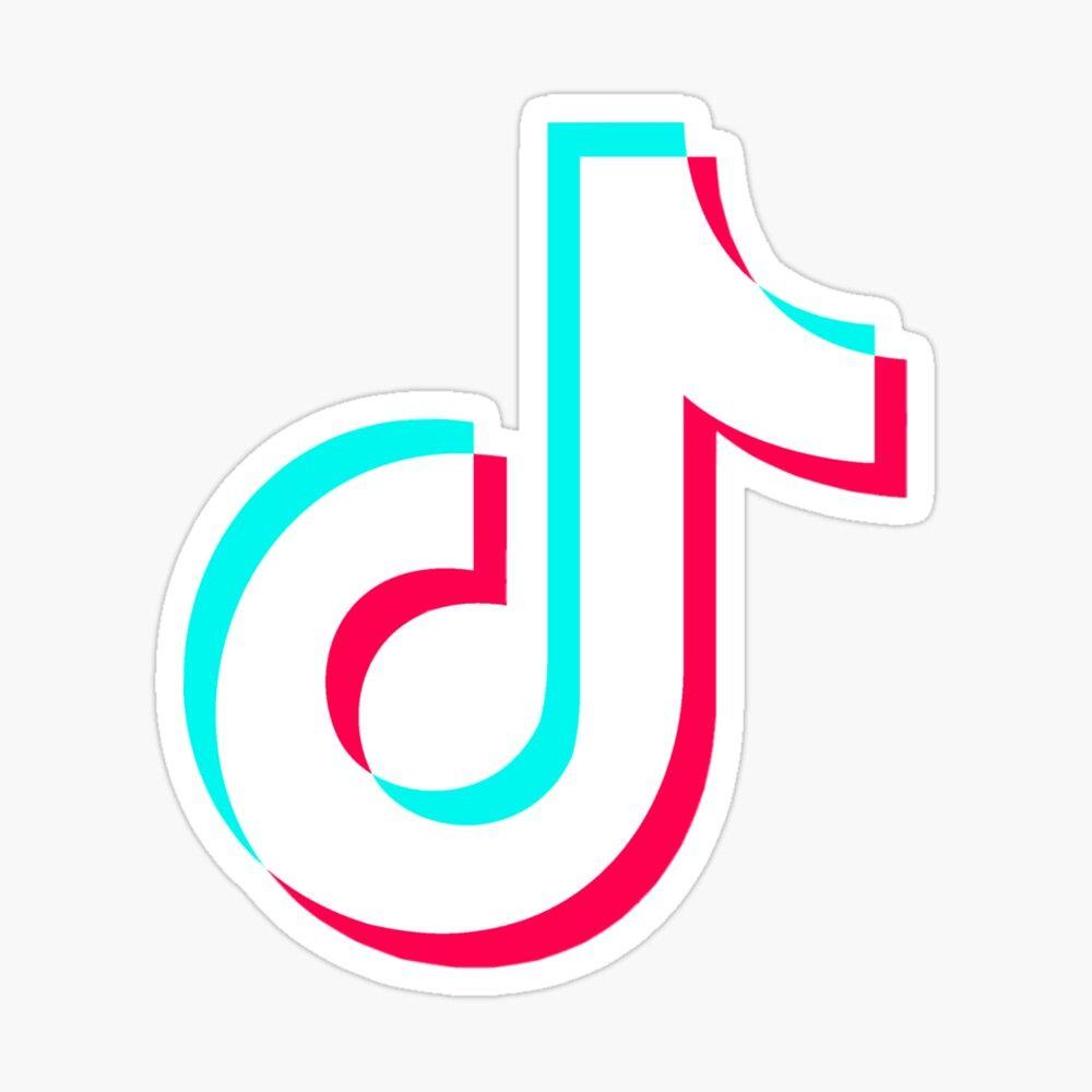 Tiktok Logo Sticker Sticker By Tamara Is Cool In 2021 Logo Sticker Stickers Logos