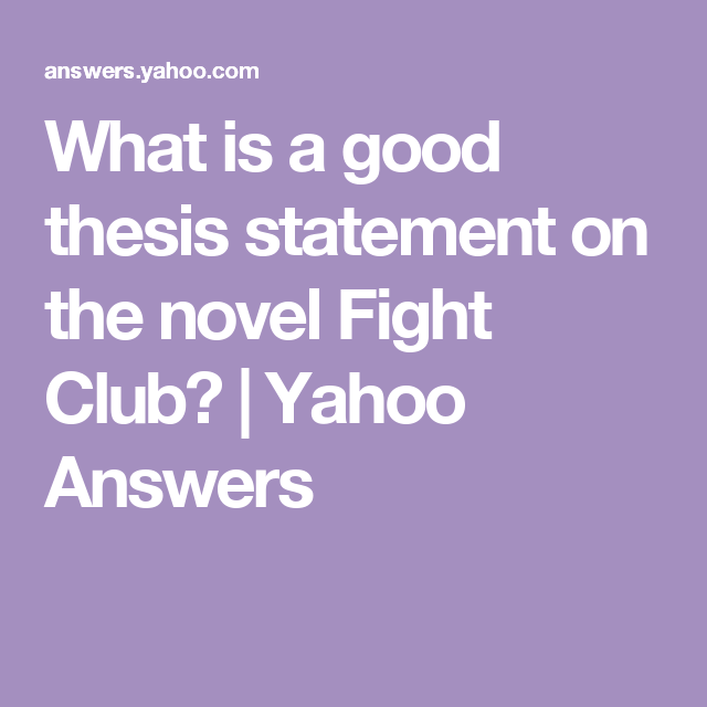 film thesis statement The thesis statement is the sentence that states the main idea of a writing assignment and helps control the ideas within the paper it is not merely a topic it often reflects an opinion or judgment that a writer has made about a reading or personal experience.