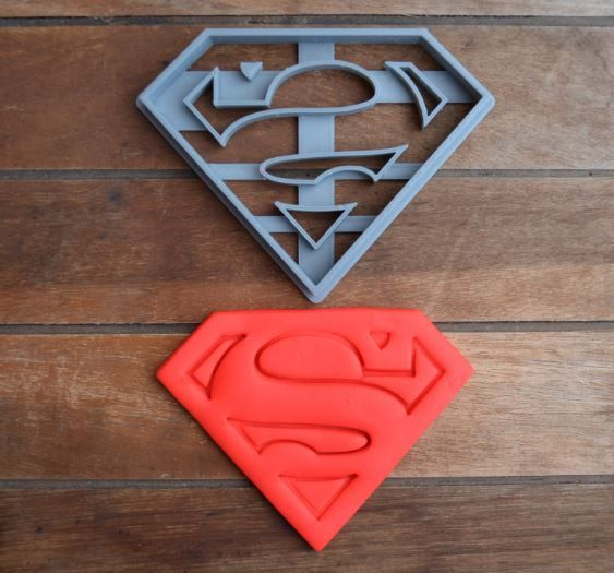 Superman Cookie And Fondant Cutter Made in the USA