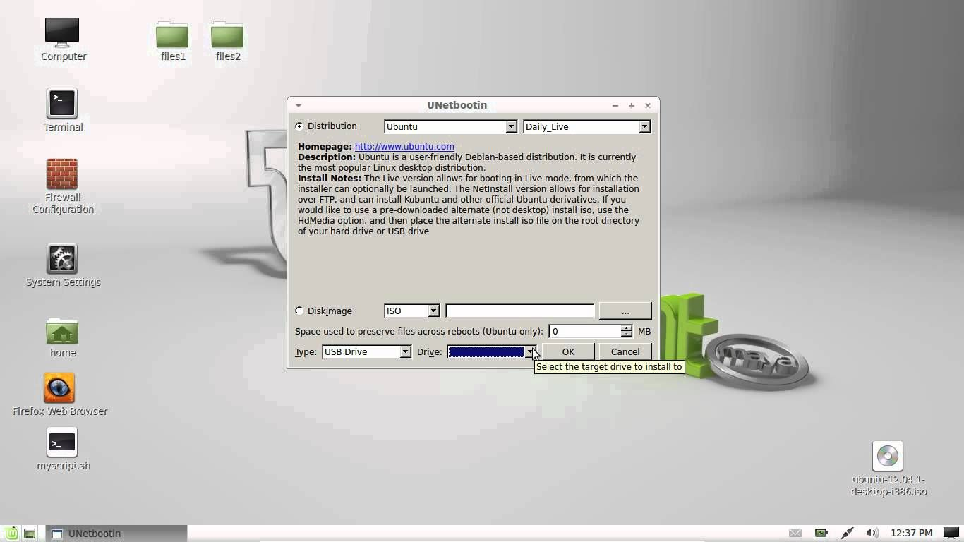 create a usb bootable linux distro in linux mint 13 | linux | Linux