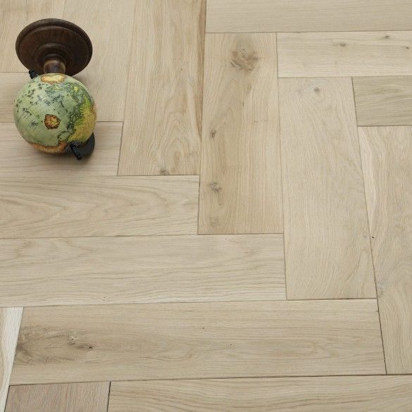 Unfinished Luxury Parquet Oak Solid Wood Flooring Flooring