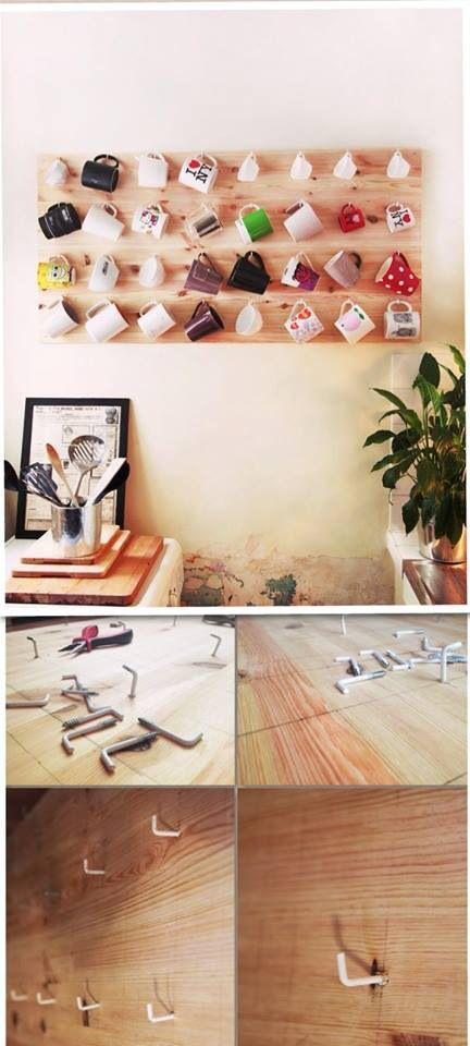 tassenhalter m bel haus pinterest schrank k che und. Black Bedroom Furniture Sets. Home Design Ideas
