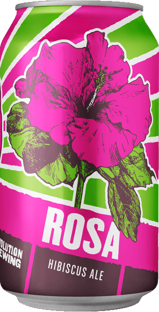 2 New Chicago Revolution Brewing Craft Beer Summer Rosa Hibiscus Ale