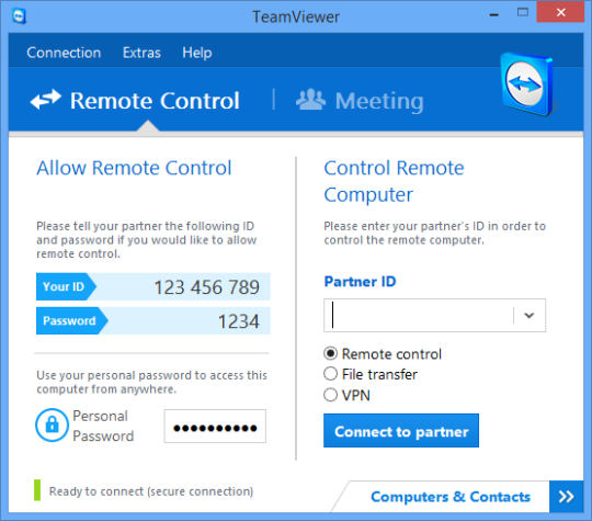 This Is The One If Mac Pc Will Work Teamviewer Is A Free Tool That Makes It Incredibly Easy To Set And Use A Vpn Computer Remote Remote Control Software