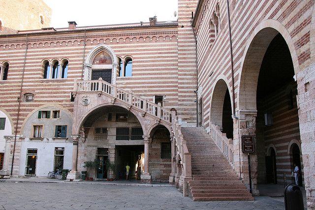 When in Verona: visit the courtyard of Mercato Vecchio.  [Photo credit: Marco Zanferrari @ http://flickr.com/tuttotutto]