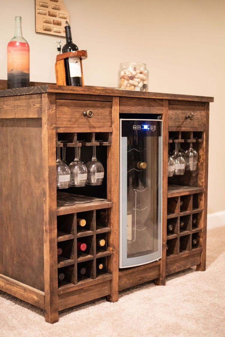 Wine Cooler in 2020 (With images) Wine furniture