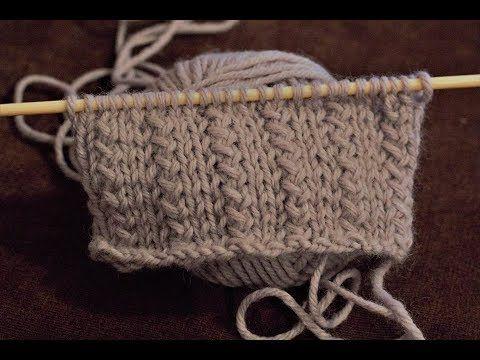 Tricot: pointe herbe   – Różne wzorki