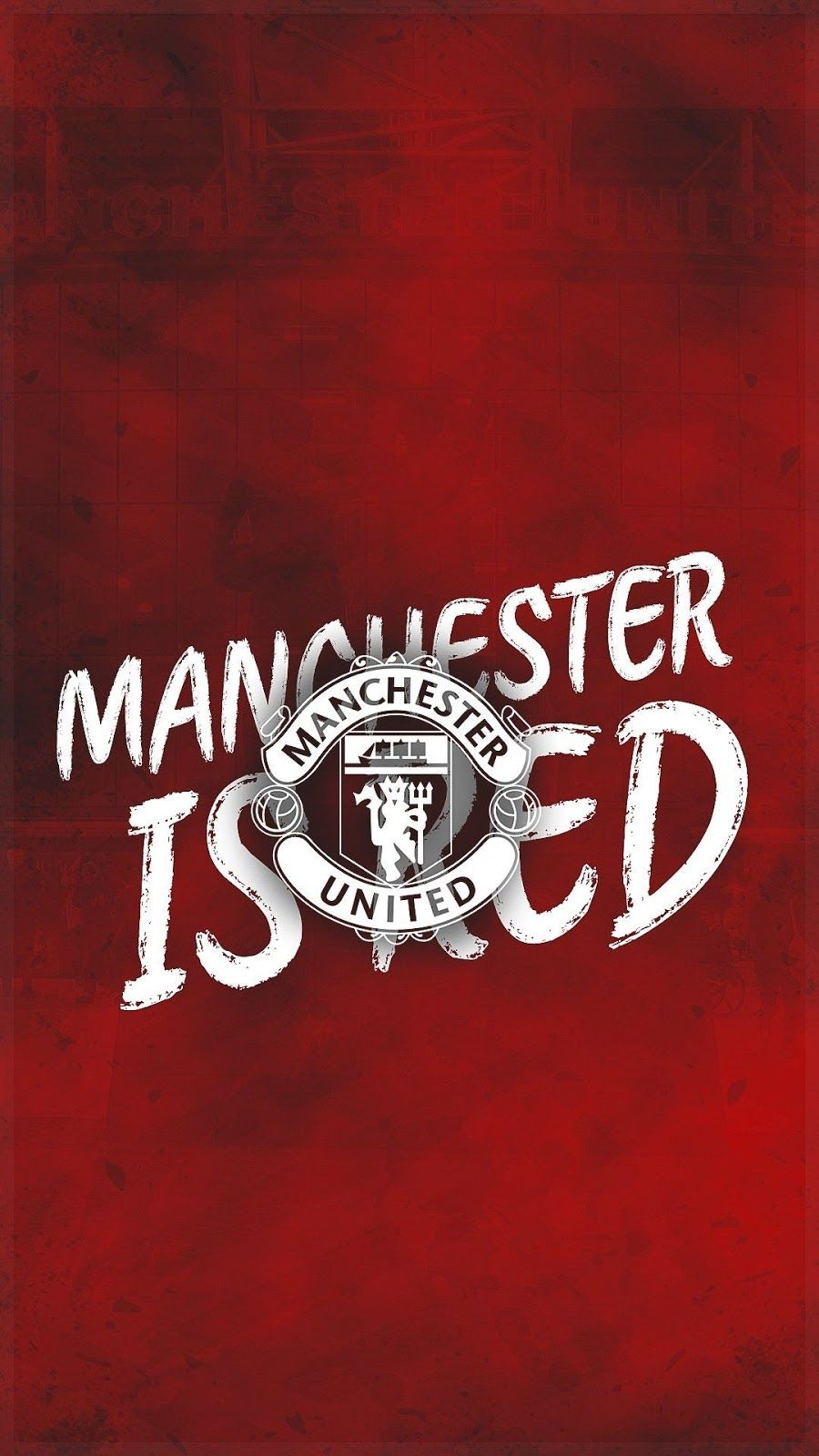 Manchester United Iphone Wallpaper Hd In 2020 Manchester United Wallpaper Manchester United Logo Manchester United Wallpapers Iphone