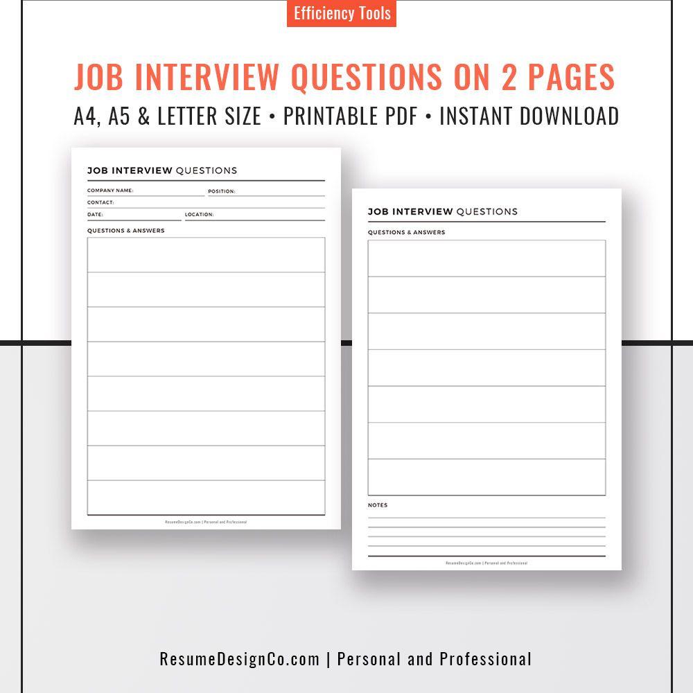 Personal Interview Pdf