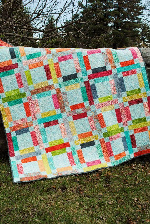 On Refait Le Patch : refait, patch, Quilt, PATTERN.One, Jelly, Quick, Grandma, Patchwork, Patterns,, Pattern,, Patterns