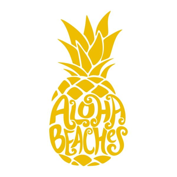 Aloha Beaches Pack Cuttable Design | Apex Embroidery Designs, Monogram Fonts & Alphabets