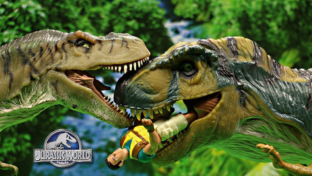 The Lost World Bull T Rex Kenner Toy Review Compare To Jurassic