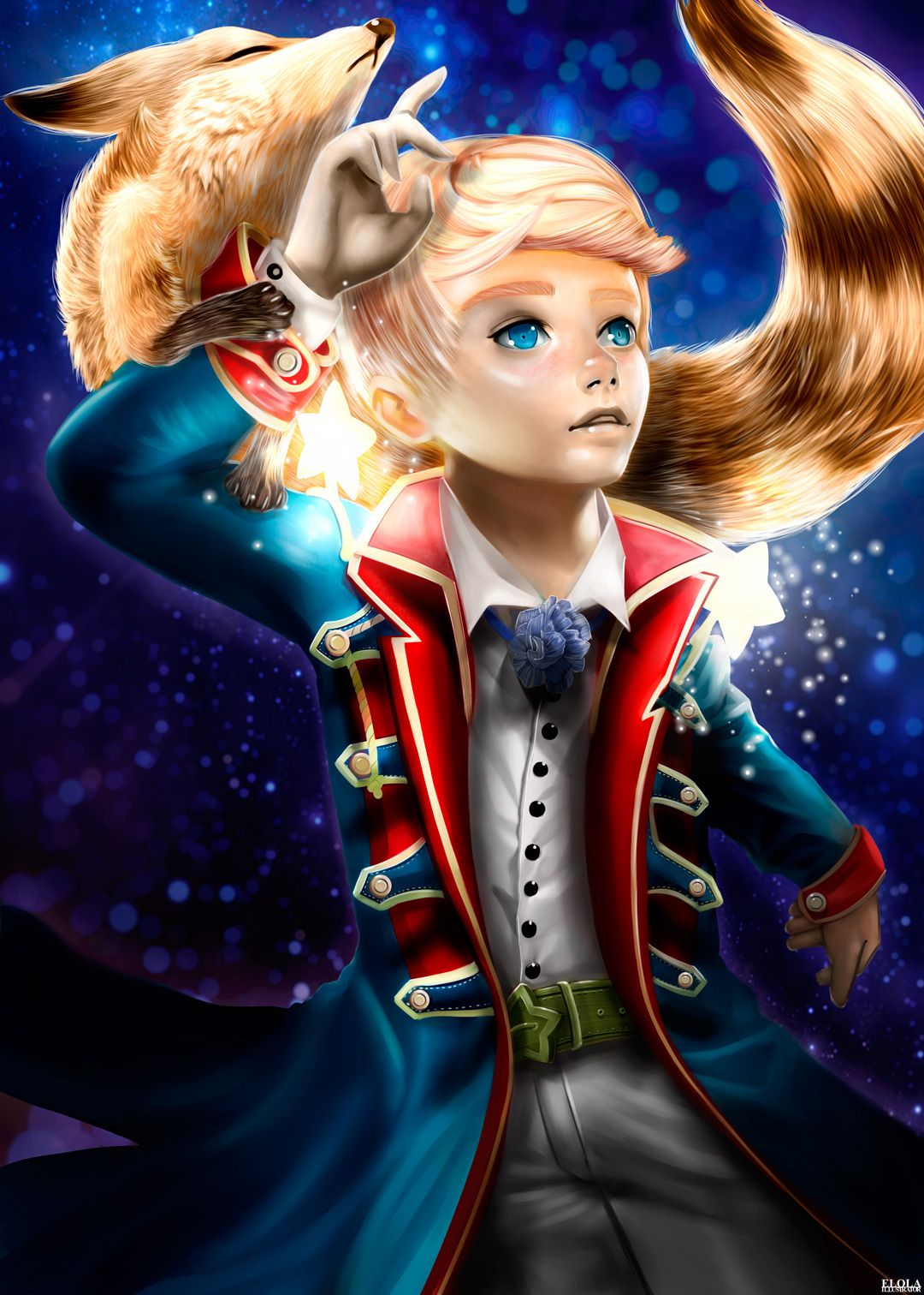 the little prince reborn entertainment the little the little prince fanart on behance