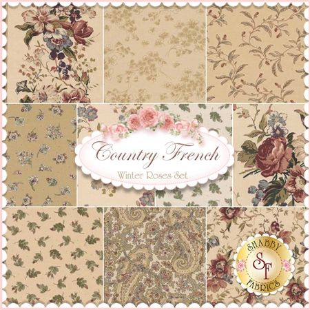 Country French Is A Floral Fabric Collection By Maywood Studio - Country french fabric