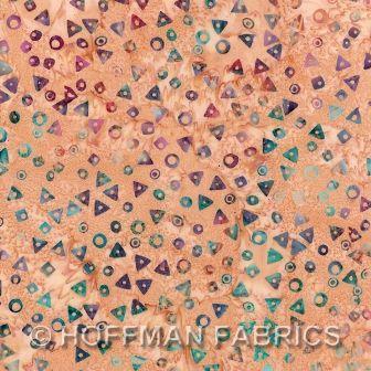 Hoffman Fabrics Bali Hand Dyed Watercolors Batik September