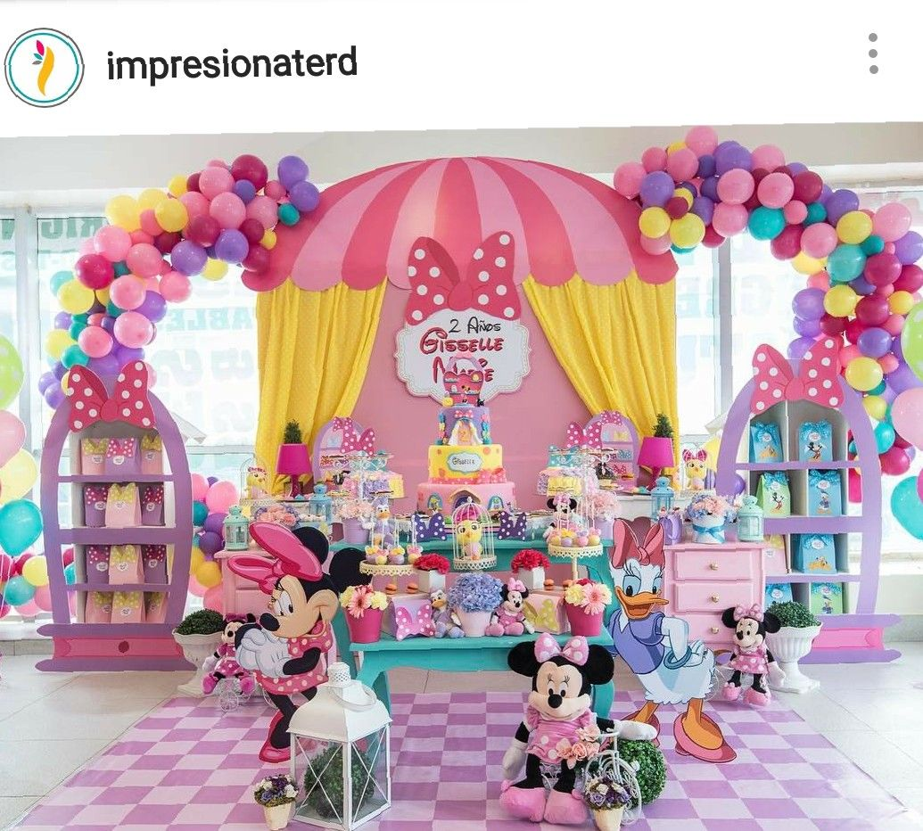 minnie mouse boutique birthday party dessert table minie. Black Bedroom Furniture Sets. Home Design Ideas