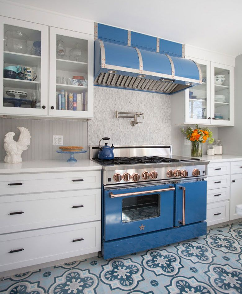 Gorgeous BlueStar ovens and a Contest via Kitchen Designs by Ken ...