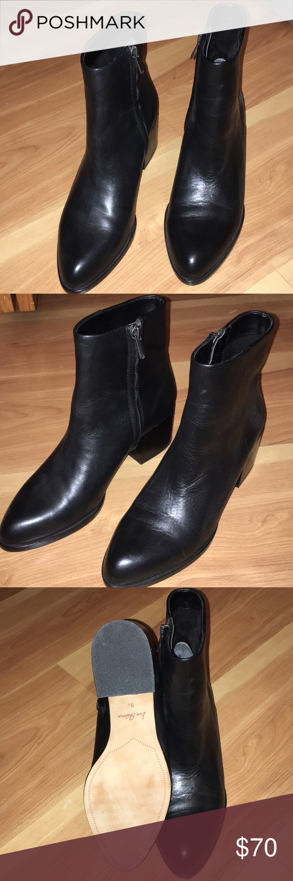 99c28757286b0 Sam Edelman Joey booties never worn Never worn leather sam Edelman Joey  booties Don t have original box Sam Edelman Shoes Ankle Boots   Booties