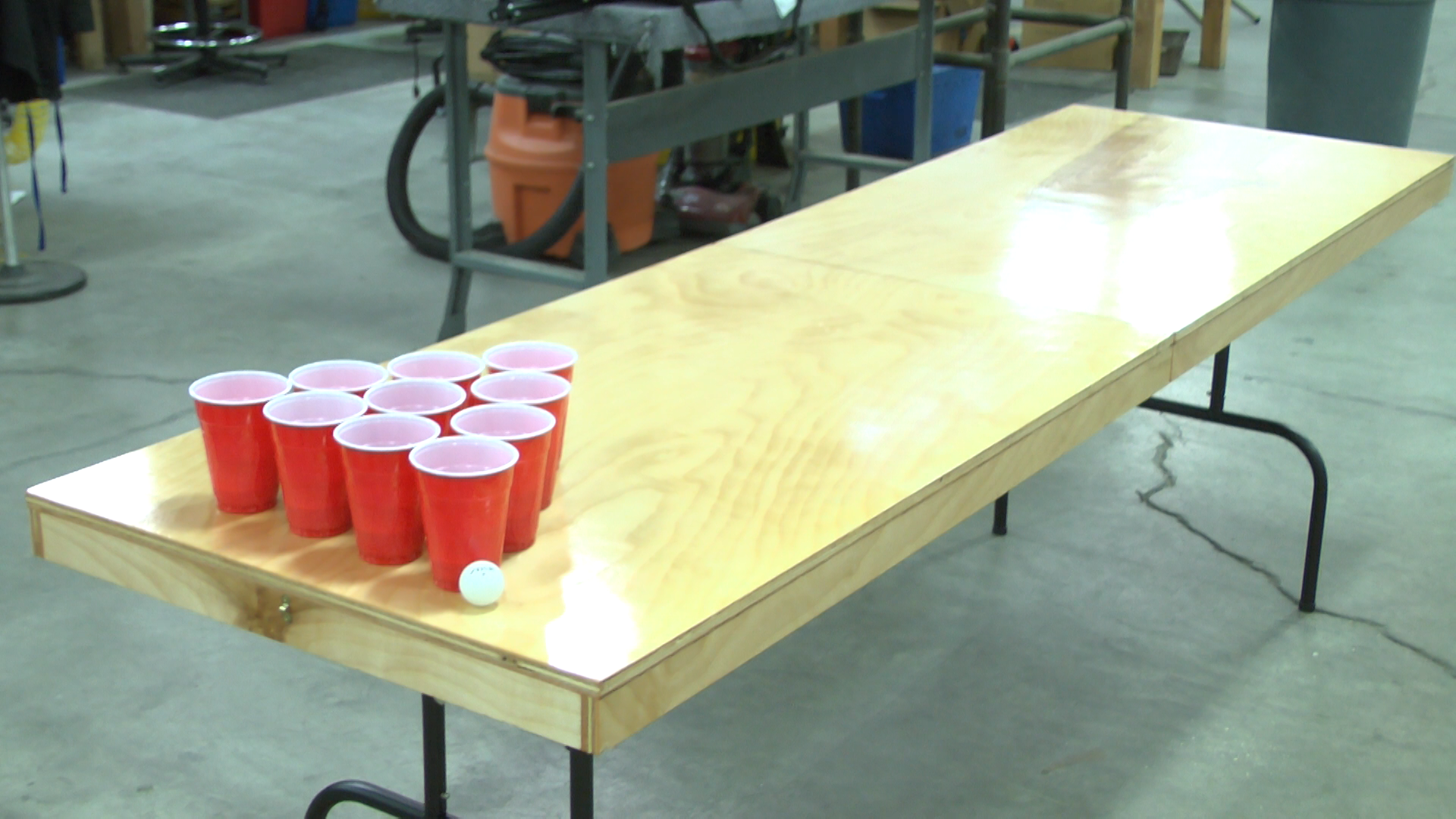 Diy Beer Pong Table Beer Pong Tables Beer Pong Make Your