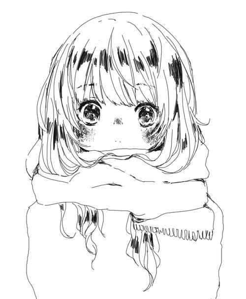 Full Body Anime Lineart Adorable Google Search Anime Lineart
