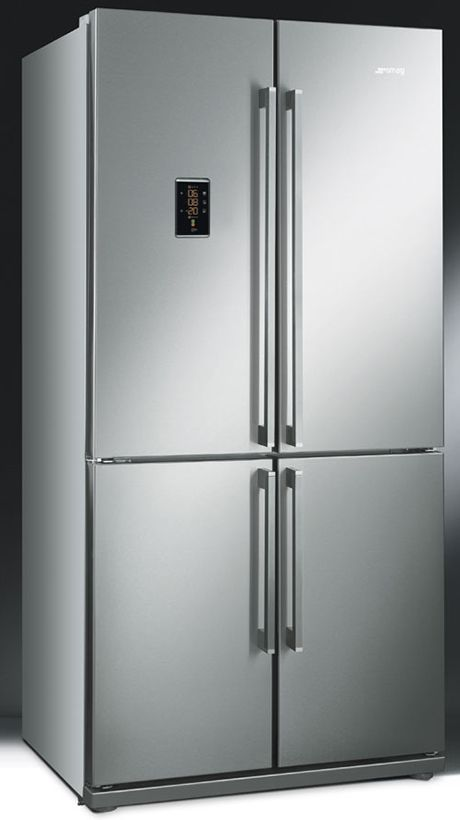 smeg fq60xpe differs from the regular side by side fridge freezers because of its. Black Bedroom Furniture Sets. Home Design Ideas