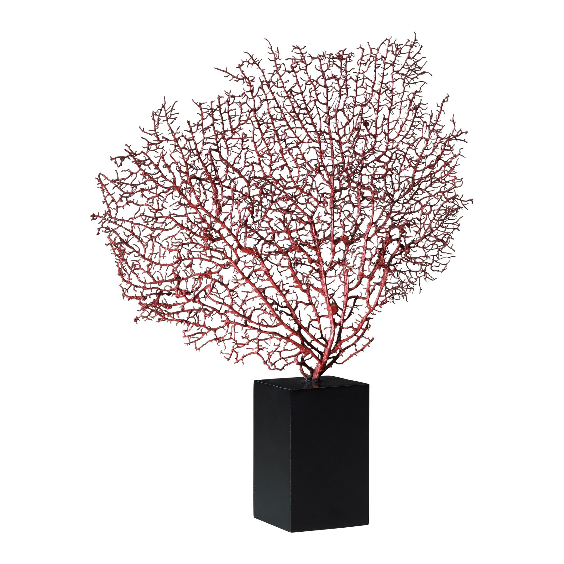 Red Coral Decorative Accent...or Spray Paint Floral Accent