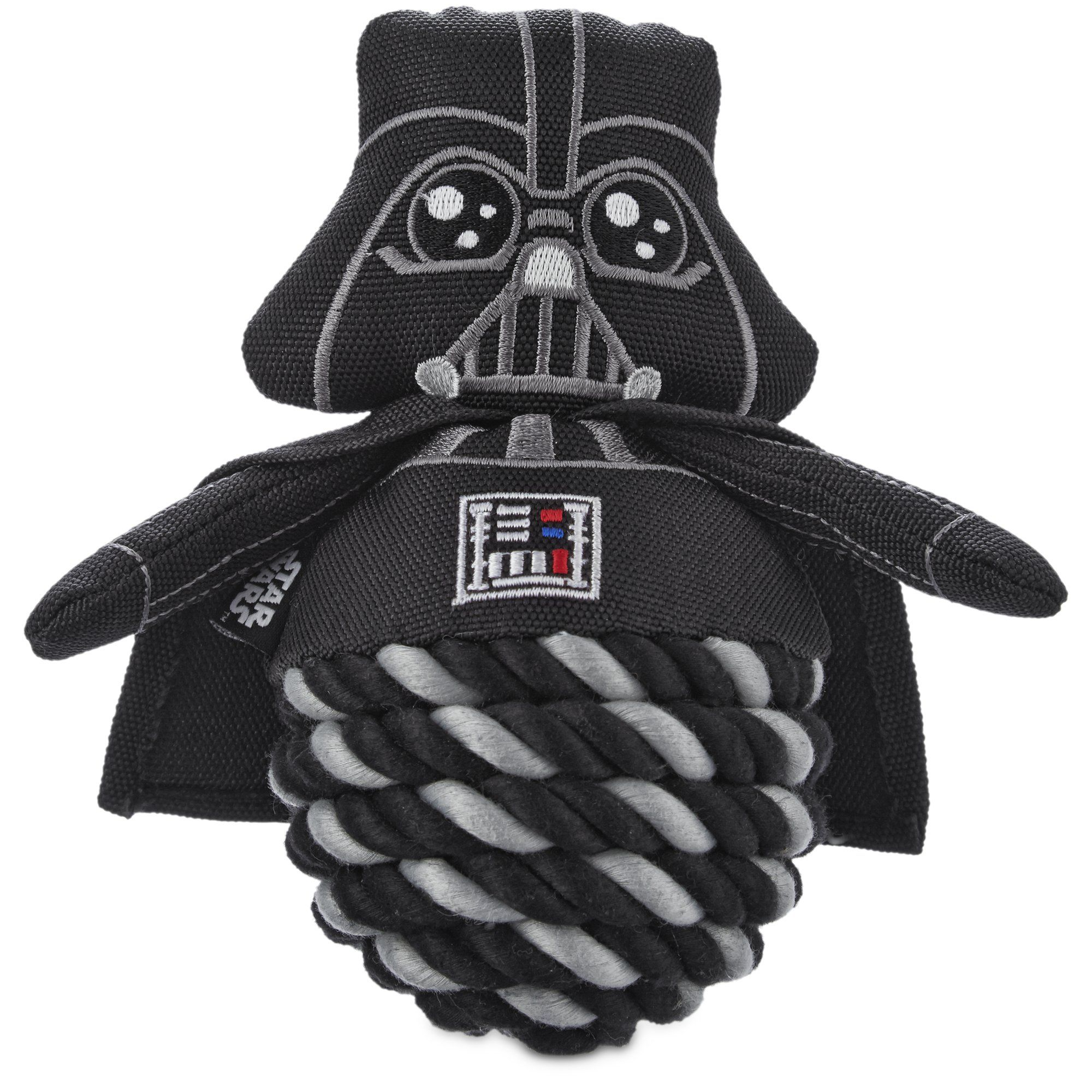 8 Star Wars Darth Vader Rope Ball Dog Toy 6 Star Wars Darth