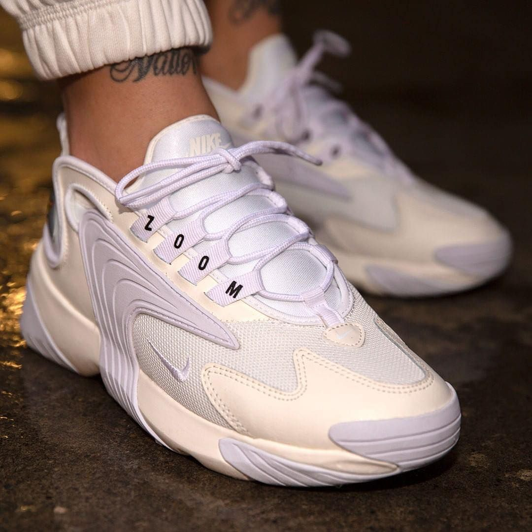 "29319b0b3e29d SneakCorner on Instagram  ""Nike Wmns Zoom 2K in Sail White-Black✨⠀⠀ 📸   titoloshop"""