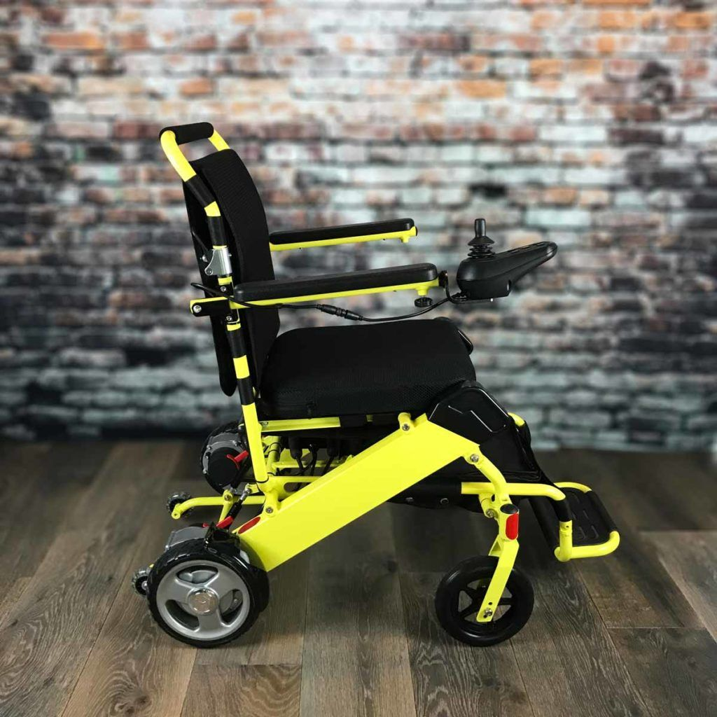 WeatherPROOF Electric Wheelchair FOLD & GO Electric