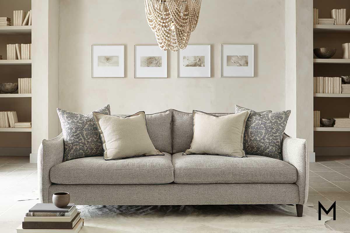 Joli Sofa With Pillows In 2020 Furniture Comfortable Sofa