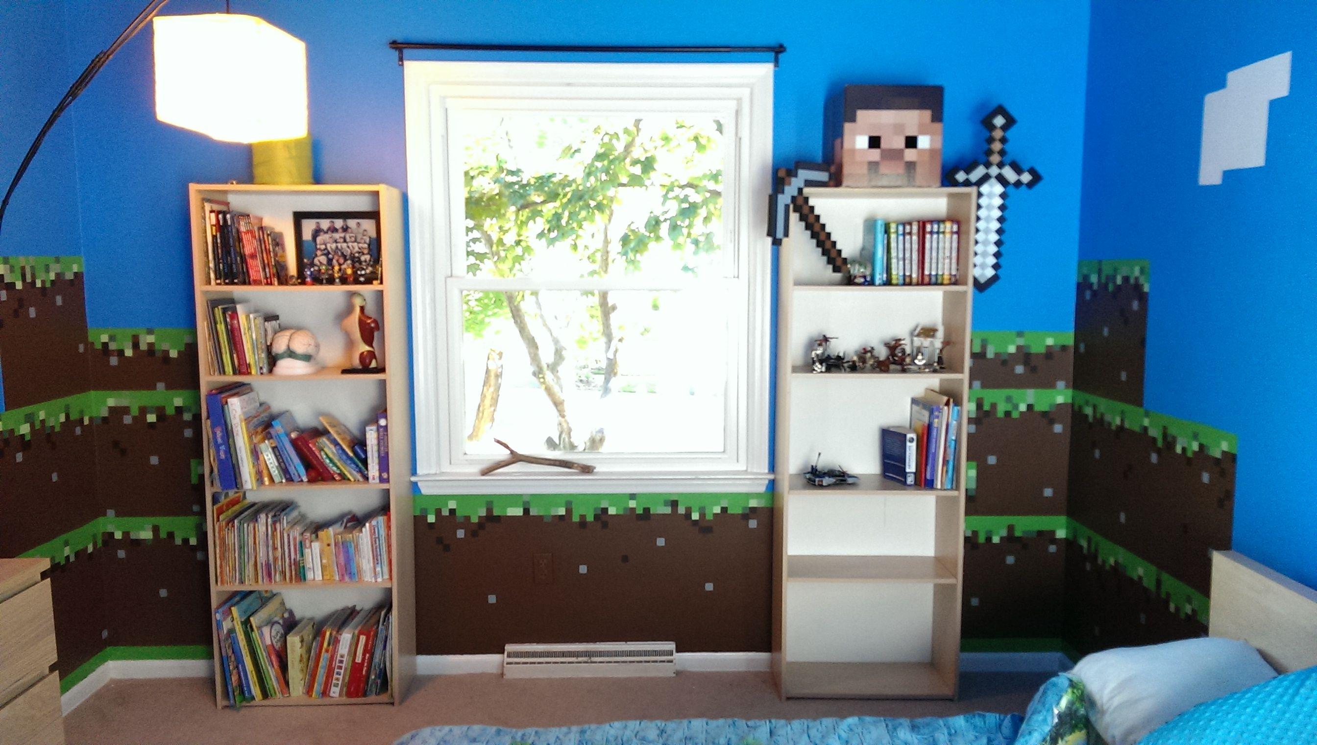 Minecraft Kids Bedroom Minecraft Kids Bedroom Ideas